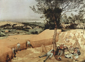Жатва. Месяц август (П. Брейгель, 1565 г.)