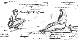 Тазит и миссионер, конец 1829–начало 1830 г.