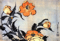 Цветы маки (Кацусика Хокусай)