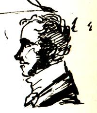 Портрет Н.И. Гнедича