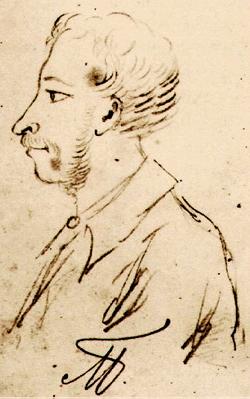Автопортрет 1829 г.