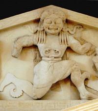 Медуза Горгона. Фронтон храма Артемиды с острова Корфу