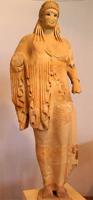 Кора Антенора. 520 г. до н.э. Афины, Музей Акрополя