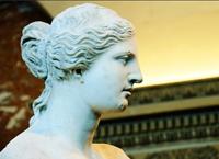 Венера в профиль