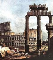 Римское каприччио, Колизей (Каналетто)