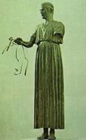 Дельфийский возничий. V в. до н.э. Дельфийский музей, Греция