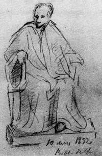 А.С. Пушкин. Статуя Вольтера