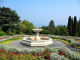 Парк Ливадийского дворца