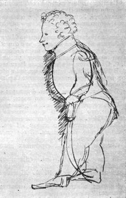 Портрет Л. С. Пушкина, 1835 г.