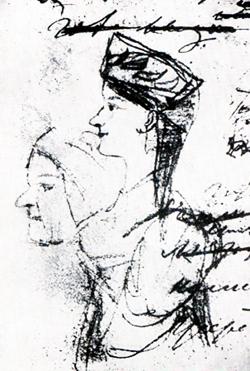 Няня, 1828 г.