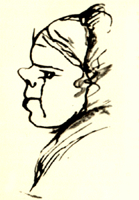 Портрет Арины Родионовны