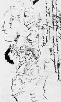 Домашние Инзова, 1822 г.