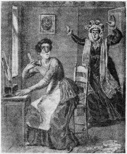 «Домик в Коломне». Рисунок А. Брюллова (1833 г.)