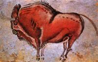 Зубр. Пещерная живопись (Пещера Альтамира. Испания)
