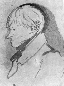 Портрет К.Ф. Рылеева, 1826 г.