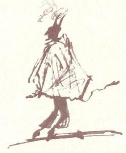 8.Чёрт в плаще из Евгения Онегина, 1824 г