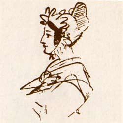 Портрет Амалии Ризнич, 1823 г.