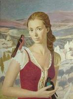 Портрет Оли (А. Хохрякова)