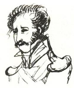 Портрет П.А. Катенина, 1828 г.
